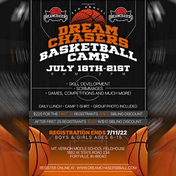 Dream Chasers Annual Camp